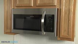 Frigidaire Microwave Oven Disassembly (Model FFMV1645TSA)