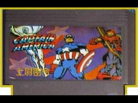 Обзор Денди Игр Выпуск №8 Captain America and the Avengers