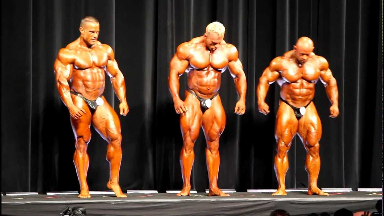 Arnold Classic Bodybuilding 2012 Top Three - Warren, Wolf