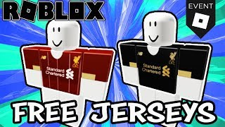 [FREE ITEMS] Liverpool FC EVENT (Roblox) - How To Get Liverpool Football Club Jersey