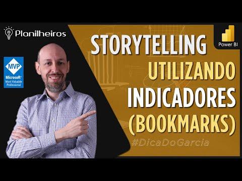Power BI (desktop) - Storytelling com Bookmarks (Painel de Indicadores)