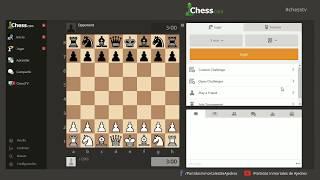 "Match de Ajedrez ""Partidas Inmortales"" vs ""Argentina Live Chess"""