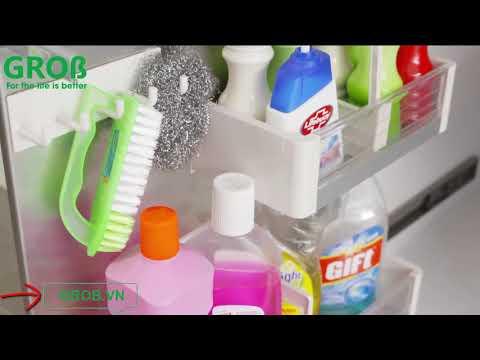 (Grob.vn) Kệ để hóa chất dưới chậu rửa Grob