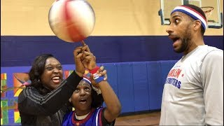 Nation's No. 1 Ten-Year Old Meets Harlem Globetrotters