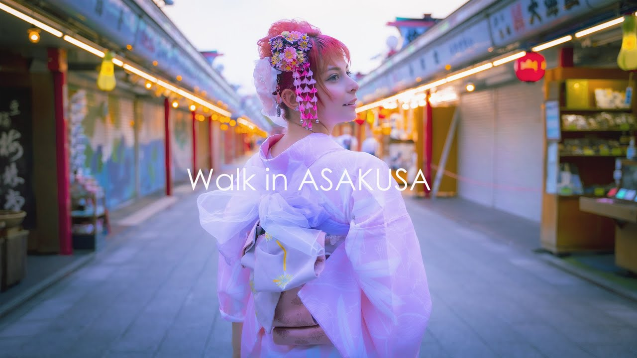 Walk in Asakusa with YURIKOTIGER | 浅草散歩