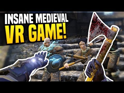 INSANE MEDIEVAL VR GAME - Blade & Sorcery VR | Virtual Reality Warrior!