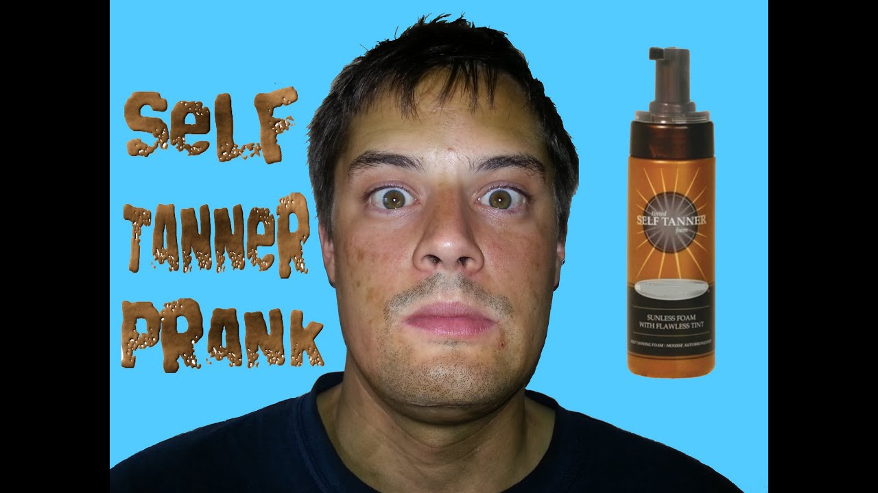 SELF TANNER LOTION PRANK ON BOYFRIEND - Top Girlfriend and Boyfriend ... baf1369ebdb1