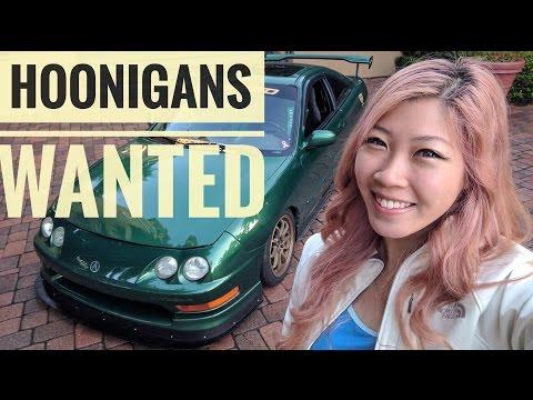 HOONIGANS WANTED - FIAT FEMALE DRIVER SEARCH - Thadya Virginia