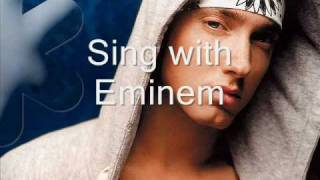 love the way you lie [instrumental sing with Eminem]