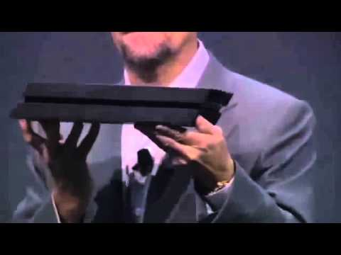 PS4 PlayStation 4 Hardware Reveal Sony E3 2013 Press Conference   Playstation 4 Games - YouTube
