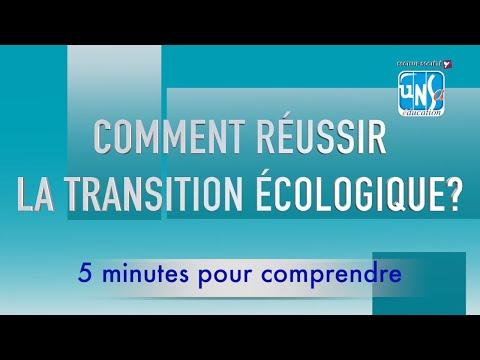 5 minutes pour comprendre : la transition écologique