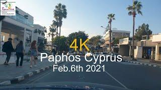 Feb 6th 2021 Kato Paphos Cyprus Limited Lockdown 4K