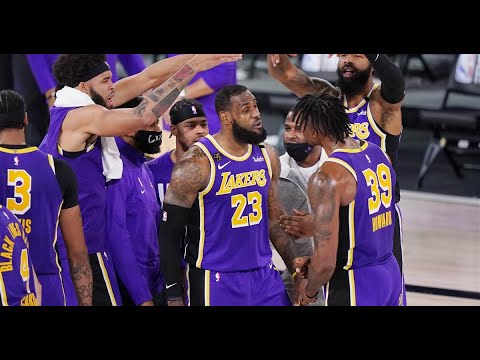 Lakers reach The Finals, but 'the job is not done'