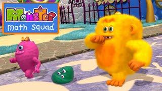 Monster Math Squad | 103 | Woofie Goes Walkies | Learning Numbers Series