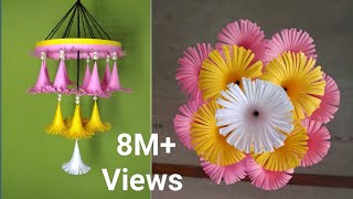 Wall hanging craft ideas // DIY wind chime // Wind chime craft ideas