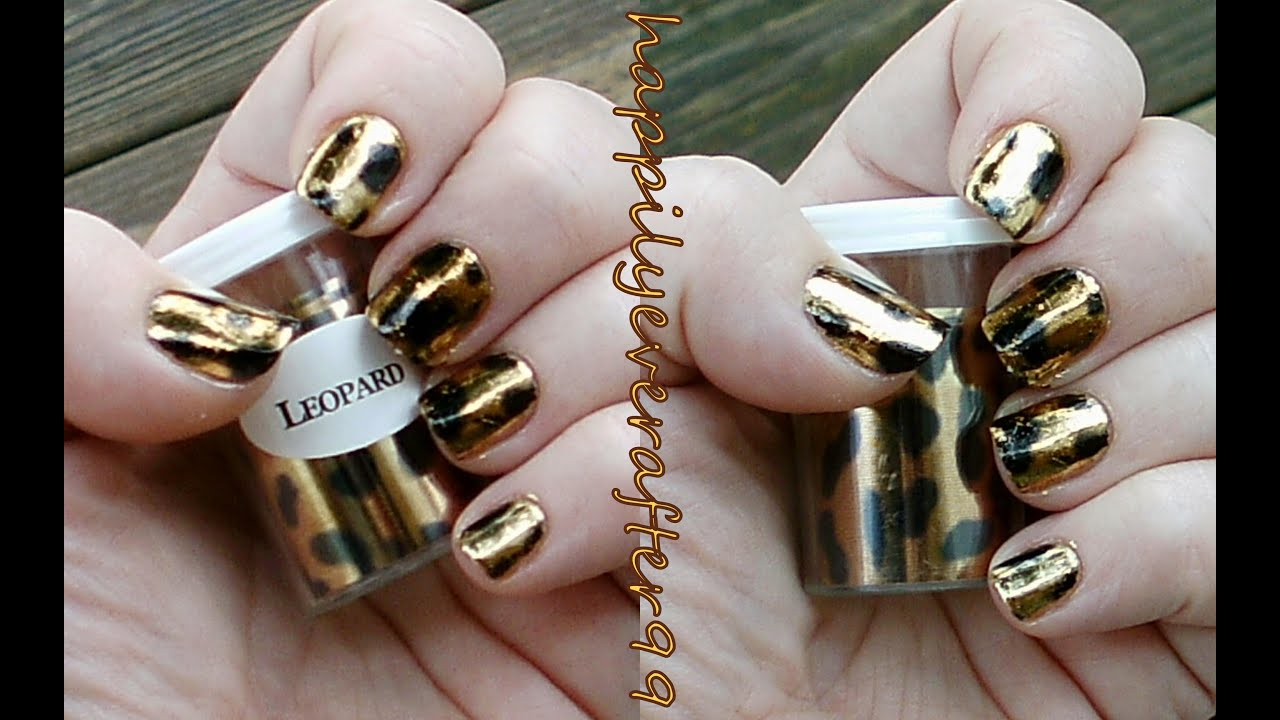How to apply nail art foils youtube prinsesfo Images