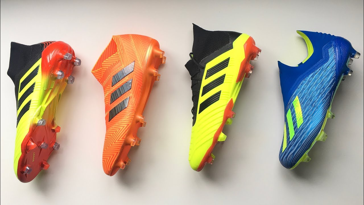 New 2018 World Cup Adidas Boots (ENERGY MODE PACK) - Unboxing - YouTube 794d3c41e