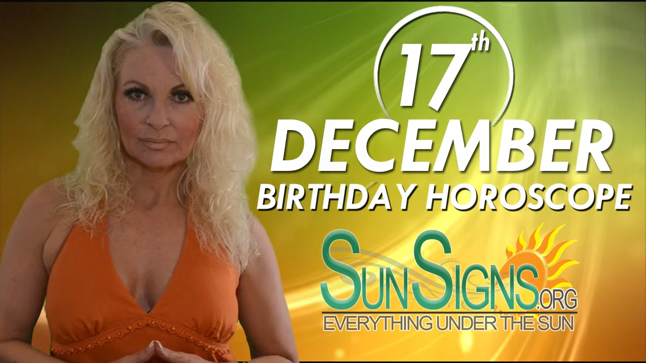 17 december born astrology