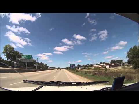 Hammer Down With Len Dubois Trucking - Trip 15 Part  - Winnipeg Trucking