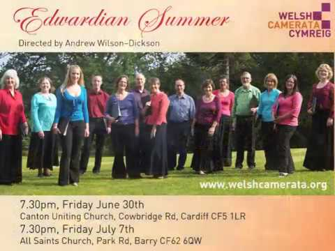 Edwardian Summer - Welsh Camerata 2017