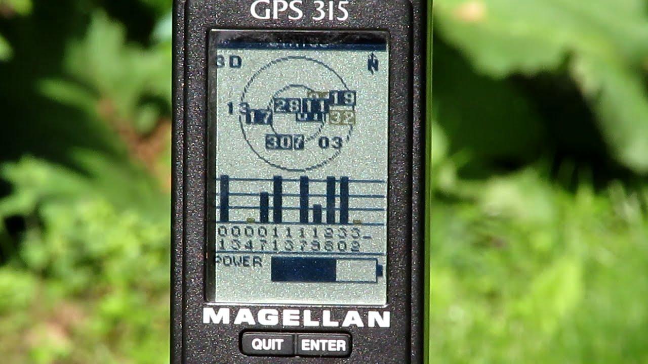 older handheld gps magellan 315 youtube rh youtube com Macgellan GPS Garmin GPS Manual
