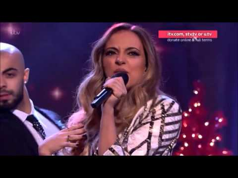 """Little Mix Close iTV's Text Santa with """"Love Me Like You"""" - 18 Dec 2015"""