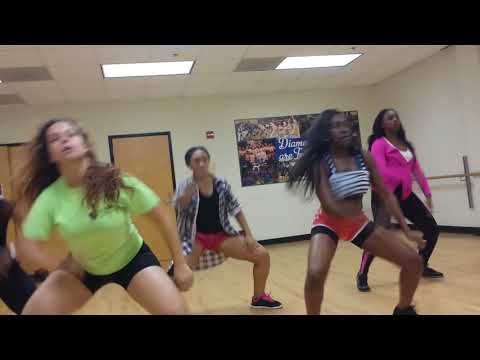 "Dillard University's \""Diamond\"" Dance Team"