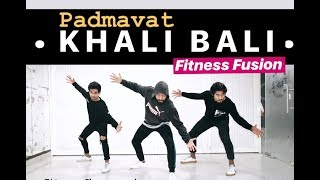 Khalibali Bollywood Dance Workout Choreography | Khalibali Dance Fitness | FITNESS DANCE with Rahul