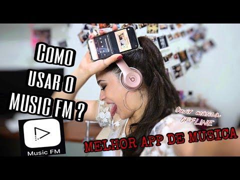 Como usar o MUSIC FM ? (app offline)