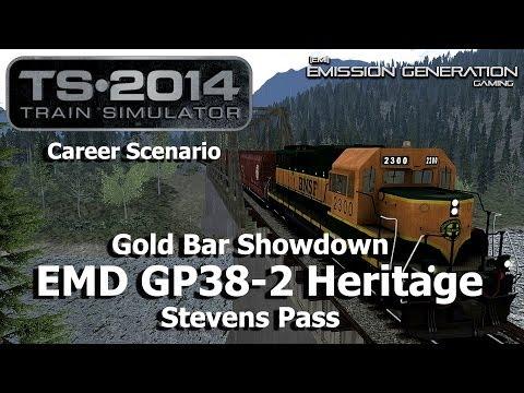 Gold Bar Showdown - Career Scenario - Train Simulator 2014