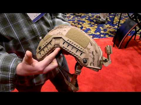 OPS-Core New Maritime Helmet for 2012, Shot Show 2012, Las Vegas