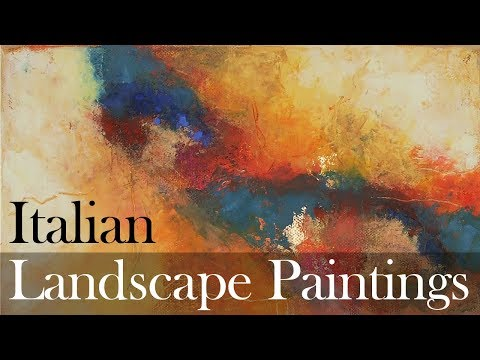 Italian Paintings Of Basilicata, Landscape Paintings Of Southern Italy's Countryside And Scenery