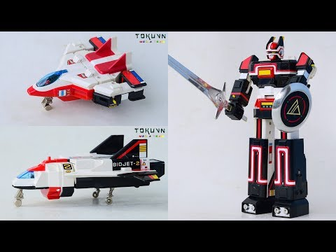 [TMT][407] DX Chogokin Bio Robo! DX 超合金 バイオロボ! Choudenshi Bioman! 超電子バイオマン