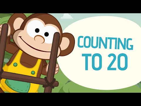 Counting to 20 - Learn to count from 1 to 20 - Nursery Rhymes - Toobys