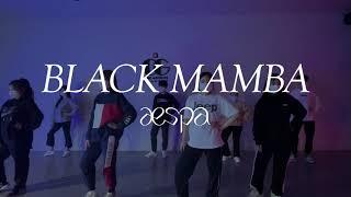 [대구댄스학원] AESPA 에스파 - BLACK MAM…