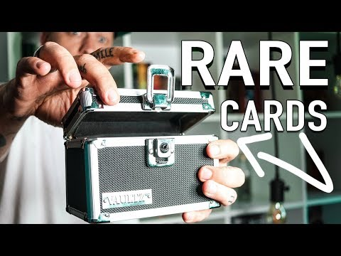 Some Of The RAREST Playing Cards On The Market!!
