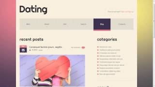 Amity Online Dating PSD Template | Themeforest Website Templates and Themes