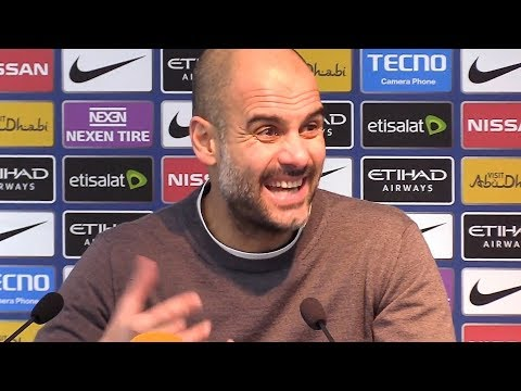 Manchester City 3-1 Newcastle - Pep Guardiola Post Match Press Conference - Premier League #MCINEW