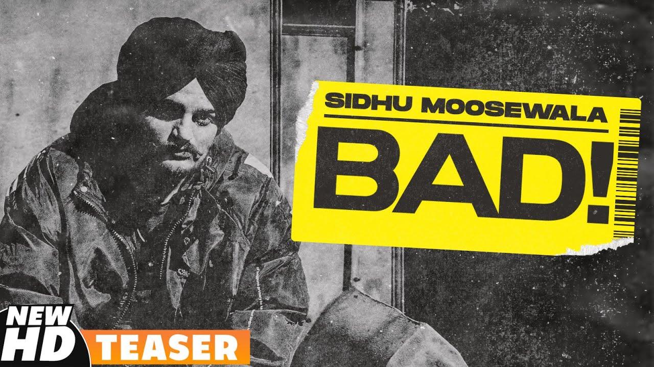 SIDHU MOOSEWALA | Bad (Teaser) | Dev Ocean | Karandope | Latest Punjabi Teasers 2020 | Speed Records