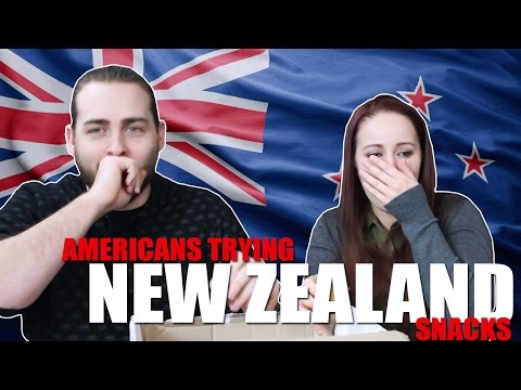 Americans Taste Test New Zealand Snacks