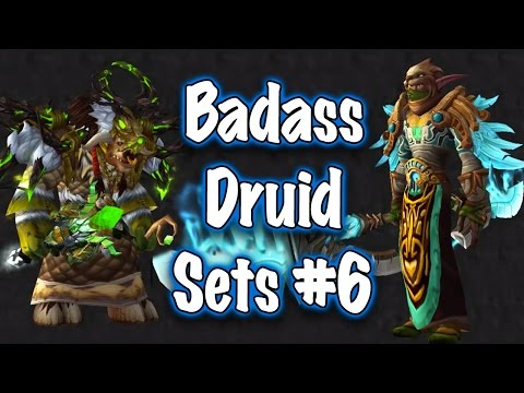 Jessiehealz - Badass Druid Transmog Sets #6 Guide (World of Warcraft)