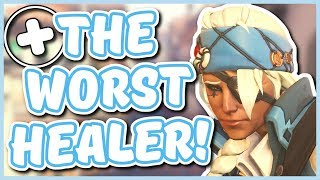 Overwatch - WHY ANA IS THE WORST HEALER (Better Buffs For Ana?)