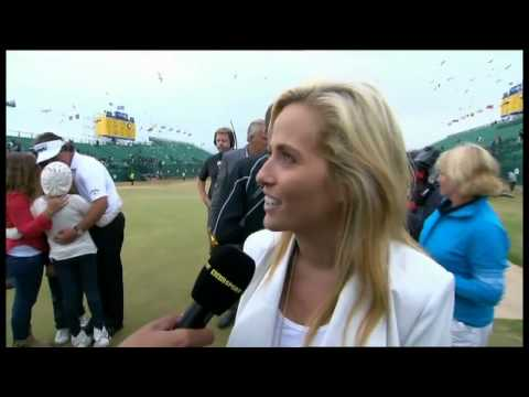 Phil Mickelson's wife Amy - BBC TV Interview