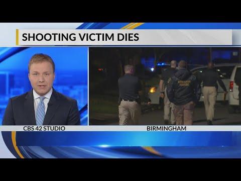 Shooting victim dies in SW Birmingham