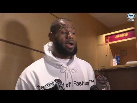 LeBron on Browns