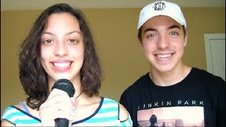 TEACHING MY SISTER HOW TO BEATBOX!