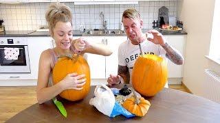 Halloween pumpkin challenge