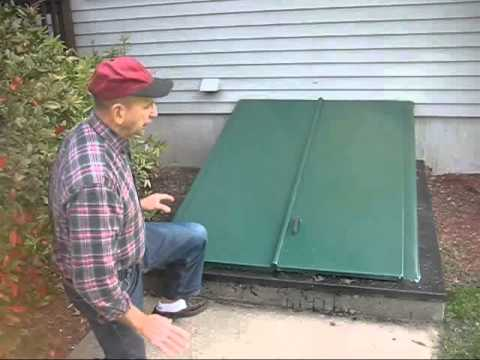 How To Seal A Leaking Cellar Bulkhead