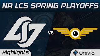 clg vs fly highlights game 3 na lcs spring playoffs 2017 counter logic gaming vs flyquest
