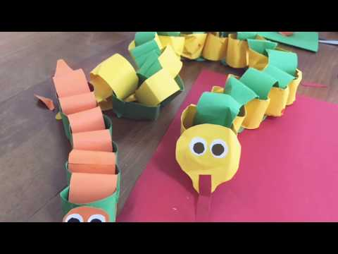 Paper snake craft / how to make a paper snake /